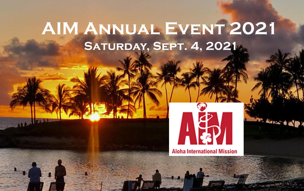 AIM Annual Event 2021